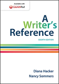 A Writer's Reference 8th Edition 9781457666766 1457666766