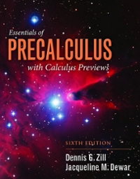 Essentials of Precalculus with Calculus Previews 6th Edition 9781284056327 1284056325