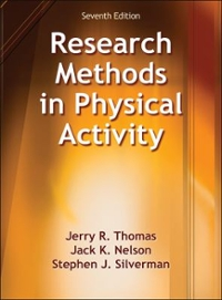 Research Methods in Physical Activity 7th Edition 9781450470445 1450470440