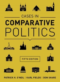 Cases in Comparative Politics 5th Edition 9780393937541 0393937542
