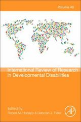 International Review of Research in Developmental Disabilities 1st Edition 9780128021811 0128021810