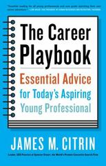 The Career Playbook 1st Edition 9780553446968 0553446967