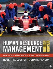 Human Resource Management 2nd Edition 9781452290638 1452290636
