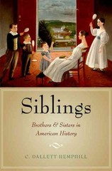 Siblings 1st Edition 9780190215897 0190215895