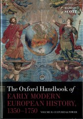 The Oxford Handbook of Early Modern European History, 1350-1750 1st Edition 9780199597260 019959726X