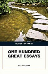 One Hundred Great Essays 5th Edition 9780134053387 0134053389