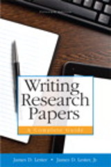 Writing Research Papers 15th Edition 9780134043999 0134043995