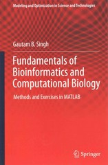 Fundamentals of Bioinformatics and Computational Biology 1st Edition 9783319114026 3319114026
