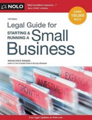 Legal Guide for Starting and Running a Small Business 14th Edition 9781413321401 1413321402