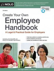 Create Your Own Employee Handbook 7th Edition 9781413321449 1413321445