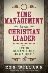 Time Management for the Christian Leader 1st Edition 9781630884260 163088426X