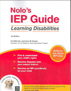 Nolo's IEP Guide 3rd edition 9781413305128 1413305121