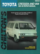 Toyota Cressida and Van, 1983-90 1st edition 9780801990663 0801990661
