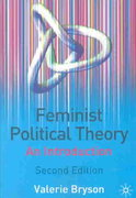 Feminist Political Theory 2nd edition 9780333945681 0333945689