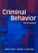 Criminal Behavior 2nd edition 9780805848922 0805848924