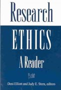 Research Ethics 1st Edition 9780874517972 0874517974