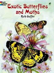 Exotic Butterflies and Moths 0 9780486423814 0486423816