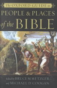 The Oxford Guide to People & Places of the Bible 0 9780195146417 0195146417