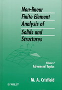 Non-Linear Finite Element Analysis of Solids and Structures, Advanced Topics 1st edition 9780471956495 047195649X