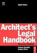 Architect's Legal Handbook 8th edition 9780750661300 0750661305