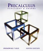 Precalculus 9th edition 9780534396435 0534396437