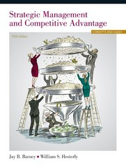 Strategic Management and Competitive Advantage 5th Edition 9780133823929 013382392X