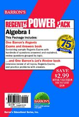 Algebra 1 Power Pack 1st Edition 9781438075747 143807574X