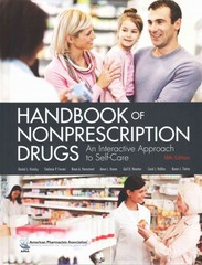 Handbook of Nonprescription Drugs, 18e 18th Edition 9781582122250 1582122253