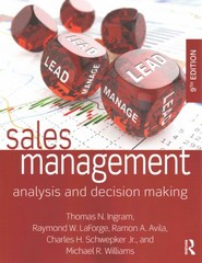 Sales Management 9th Edition 9780765644510 0765644517