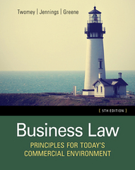 Business Law 5th Edition 9781305575158 1305575156