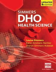 DHO Health Science Updated 8th Edition 9781305509511 130550951X