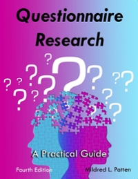 Questionnaire Research 4th Edition 9781936523313 1936523310