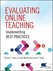 Evaluating Online Teaching 1st Edition 9781118910368 1118910362