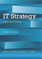 IT Strategy 3rd Edition 9780133544480 0133544486