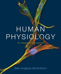 Human Physiology 7th Edition 9780321981226 0321981227
