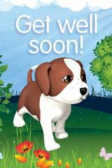 Deep Blue Get Well Postcard (Packages Of 25) 1st Edition 9781630886325 1630886327