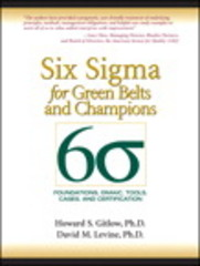 Six Sigma for Green Belts and Champions 1st Edition 9780134048574 0134048571