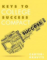 Keys to College Success Compact Plus NEW MyStudentSuccessLab with Pearson eText -- Access Card Package 1st Edition 9780133958799 0133958795