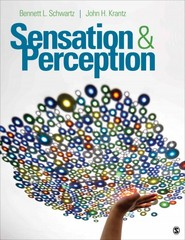 Sensation and Perception 1st Edition 9781483308104 1483308103