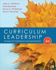 Curriculum Leadership 4th Edition 9781483347387 1483347389