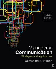 Managerial Communication 6th Edition 9781483358550 1483358550