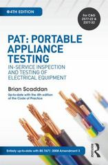 PAT: Portable Appliance Testing, 4th ed 4th Edition 9781138849297 1138849294