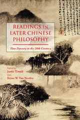 Readings in Later Chinese Philosophy 1st Edition 9781624661921 1624661920
