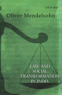 Law and Social Transformation in India 1st Edition 9780198098478 0198098472