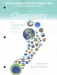 Chemical Investigations for Chemistry for Changing Times 14th Edition 9780133891850 0133891852