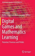 Digital Games and Mathematics Learning 1st Edition 9789401795173 9401795177