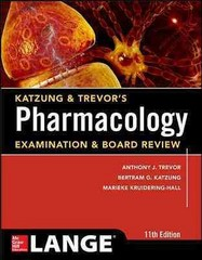 Katzung & Trevor's Pharmacology Examination and Board Review,11th Edition 11th Edition 9780071826396 0071826394