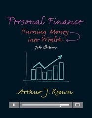 Personal Finance 7th Edition 9780133856439 0133856437