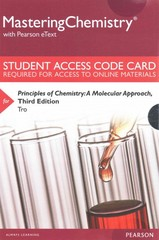 MasteringChemistry with Pearson eText -- Standalone Access Card -- for Principles of Chemistry 3rd Edition 9780133900828 0133900827