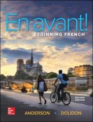 En avant! (Student Edition) 2nd Edition 9780073386461 0073386464